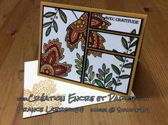 @Feuilles Légères @Lighthearted Leaves @Stampin'Write @Doodling @Stampin'Up! www.creationencreetpapier.com