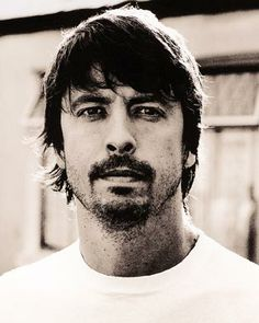 Dave Grohl photographed by Anton Corbijn... Let's be honest: COULD THIS BE ANY MORE AWESOME?!?!? No, no, it could not. And BTW, this is honestly one of my ALL TIME FAVE pics of Dr. G. YUMMY!!! (Let me add that my husband is fully aware of my man-crush!)