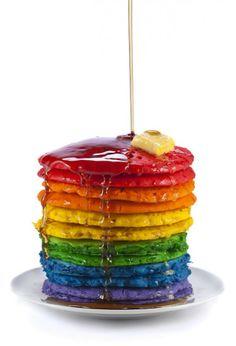 Comida de Arcoiris / Rainbow Food  a danny mi hijo le apasionaría¡¡¡¡