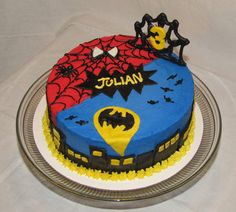 Image from http://www.ollir.com/wp-content/uploads/2014/11/birthday-cakes-batman-versus-spiderman-batman-cake-birthday-batman-forever-cake-birthday.jpeg.