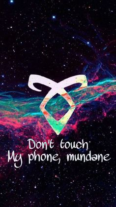 The ultimate wallpaper Mortal Instruments Wallpaper, Mortal Instruments Runes, Shadowhunters The Mortal Instruments, Cute Wallpaper Backgrounds, Cute Wallpapers, Iphone Wallpaper, Shadowhunter Tattoo, Make A Phone Case, Shadowhunters Malec