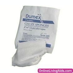 "Reliamed - 90208 - Ducare Non-Sterile Gauze Sponge 2"" x 2"", 8-Ply"
