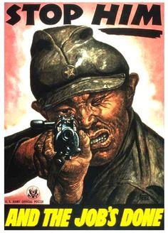 Anti Japanese WW2 poster