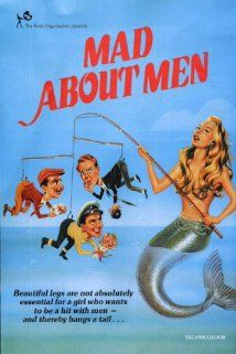 Directed by Ralph Thomas. With Glynis Johns, Donald Sinden, Anne Crawford, Margaret Rutherford. Flirtatious mermaid Miranda (Glynis Johns) swaps places with a schoolteacher who has gone on vacation. All is well until she falls in love with a human. Glynis Johns, Mermaid Movies, The Devil's Advocate, Mermaid Pictures, Vintage Mermaid, Mermaid Art, Mermaids And Mermen, Gorgeous Blonde, Fantasy Movies