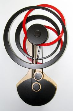 "Wooden Kinetic Sculpture-""Apogee"""