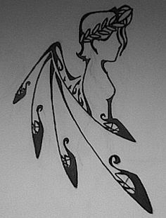 nike..Greek goddess of running.. tattoo!!!