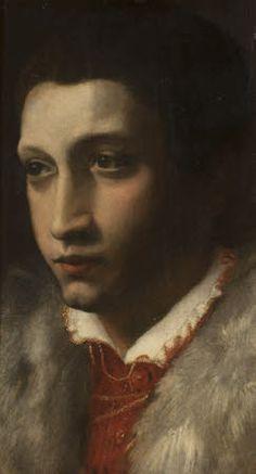 attrib. to Girolamo Mazzola Bedoli, circa 1550 - 1553, portrait of Orazio Farnese, Duke of Castro (1531-1553) at Upton House © National Trust, UK