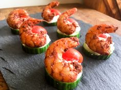 Recipes | Bradley Smoker North America  Tandoori Shrimp Canapes