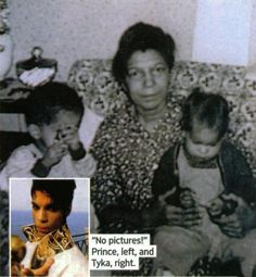 Prince Mother Mattie Shaw, With Prince & Sister Tyka.