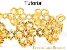(5) Name: 'Jewelry : Beading Pattern - Beaded Lace #471