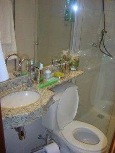 Banheiros pequenos decorados   Dicas