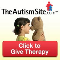 "AUTISM THERAPY -- FOR FREE !!  Click on the image of the child and the teddy bear and it will open up a new web page.  Click on the RED ""click here -it's free!""  box.  Each time you click, the advertisers on that web page will donate money for therapy for  people with Autism.      It's FREE for you to do & you can do it daily!"