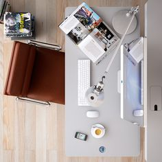 There's nothing like a fresh start with your workspace to tackle those New Year's resolutions! Check out some of these designs for inspiration.