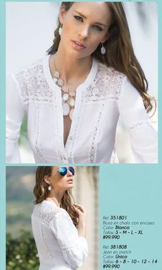 Ebba spring 2014 by Femme International - issuu Beautiful Blouses, Beautiful Outfits, Modelos Fashion, Embroidery Fashion, Dress Sewing Patterns, Indian Designer Wear, Blouse Styles, Blouses For Women, Spring 2014