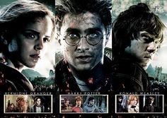Harry Potter 'The Saga' Graphic Art Print..great print.. #ad #harrypotter