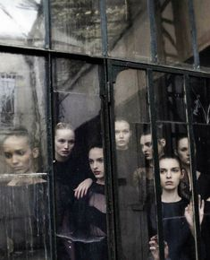 Valentino Haute Couture by Deborah Turbeville for Vogue Italia September 2012