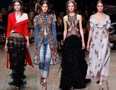 Alexander McQueen Spring/Summer 2016 Collection  #runway #fashion #catwalk