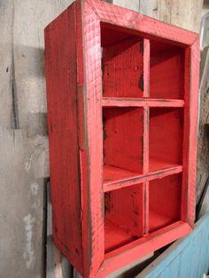 Primitive wall shelf antique wood shabby chic by LynxCreekDesigns, $65.00