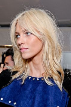 Loose Hair, Isabel Marant Fall 2012