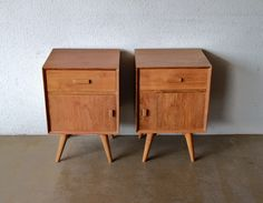 SECOND CHARM FURNITURE: LATEST COLLECTIONS OF MIDCENTURY INSPIRED BED SIDE CABINETS / NIGHT STANDS | Second Charm