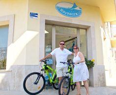 Bicis für die Coworker bei Rayaworx Coworking in Santanyí, Mallorca