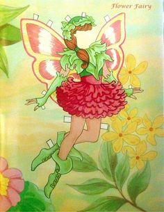 Fairy Paper Doll By Eileen Rudisill Miller: Flower Fairy