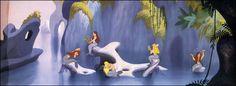 I'll dream of a mermaid lagoon...