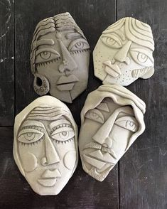 Most current Cost-Free clay pottery art Thoughts Gesichter einer Kultur … Ceramic Mask, Ceramic Clay, Ceramic Pottery, Pottery Art, Pottery Ideas, Polymer Clay Sculptures, Sculpture Clay, Sculpture Ideas, Photo Sculpture