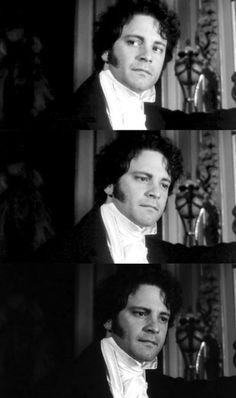 Colin Firth, Mr. Darcy - Pride and Prejudice (TV Mini-Series, BBC, 1995) #janeausten