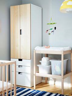 Bedroom ikea baby bedroom furniture modern on and nursery decor Baby Bedroom, Nursery Room, Girl Nursery, Nursery Ideas, Ikea Baby Room, Ikea Deco, Nursery Furniture, Baby Safe, Baby Cribs