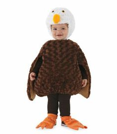 fuzzy eagle costume