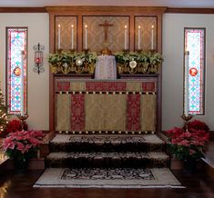 Altar of the CRNJ Oratory in St. Louis