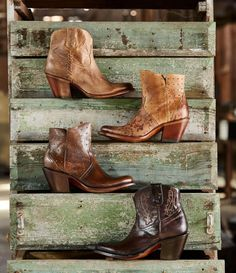 Lucchese (@lucchese) • Instagram photos and videos Western Boots, Cowboy Boots, Short Boots, Women's Booties, Footwear, Booty, Shoes, Videos, Style