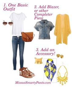 How to wear accessories-correctly...get this must-have guide from MissusSmartyPants.com