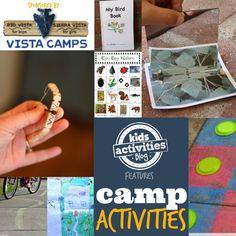 camp activities on Kids Activities Blog