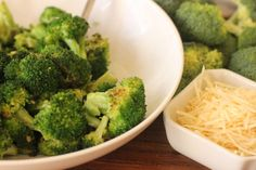 Garlic Butter Broccoli Butter Broccoli, Broccoli Soup Recipes, Broccoli Cauliflower, Broccoli And Cheese, Garlic Butter, Vegetable Recipes, Baked Cream Cheese Spaghetti, Clean Eating Snacks
