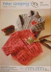 Babies Jackets Chunky Knitting Pattern