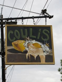 Coulis Restaurant in NOLA uptown on Prytania St.  Great breakfast - BYOB