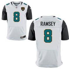 1a1aaf8f1 Jacksonville Jaguars  8 Jalen Ramsey Nike White Elite 2016 Draft Pick Jersey  Jalen Ramsey