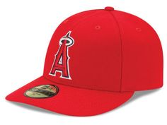 cheaper 63520 86177 Los Angeles Angels New Era MLB Low Profile AC Performance 59FIFTY Cap Mlb  Teams, Angels
