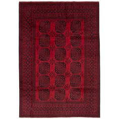 You'll love the One-of-a-Kind Bridges Hand-Knotted Wool Red Area Rug at Wayfair - Great Deals on all Rugs products with Free Shipping on most stuff, even the big stuff.
