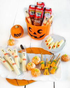 Our library of recipes for all occasions feature Horizon Organic products. Halloween Snacks, Holidays Halloween, Halloween Diy, Spooky Food, Birthdays, Organic, Desserts, Recipes, Anniversaries