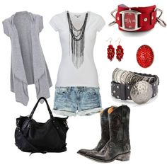 Cute outfit; if only I had the body for it; LOL , I also wanted to show you a solution that worked for me! I saw this new weight loss product on CNN and I have lost 26 pounds so far. Check it out here http://weightpage222.com