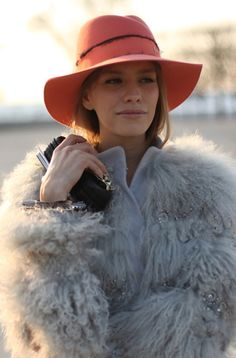 love the hat! It is a beautiful color