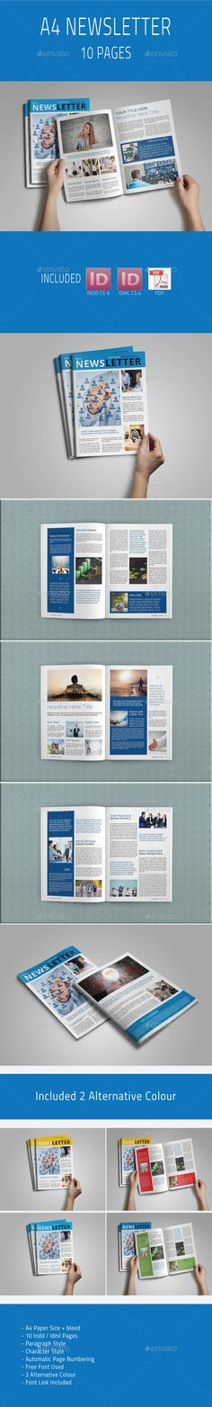 29 Best News Letter images | Card templates printable