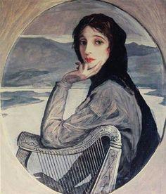 John Lavery - Lady Lavery, 1928
