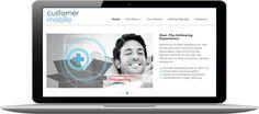 Web Design Team at Rassak Redesigns Website for Customer Mobile