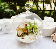BeachCottage Terrarium Glass Globe Hanging by BeachCottageBoutique, $22.50