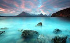 widescreen wallpaper ocean