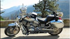 Our Harley Davidson Vrod camera bike is equipped with two SONY Professional High Definition video cameras capturing all the action. Check out the footage at www.vridetv.com